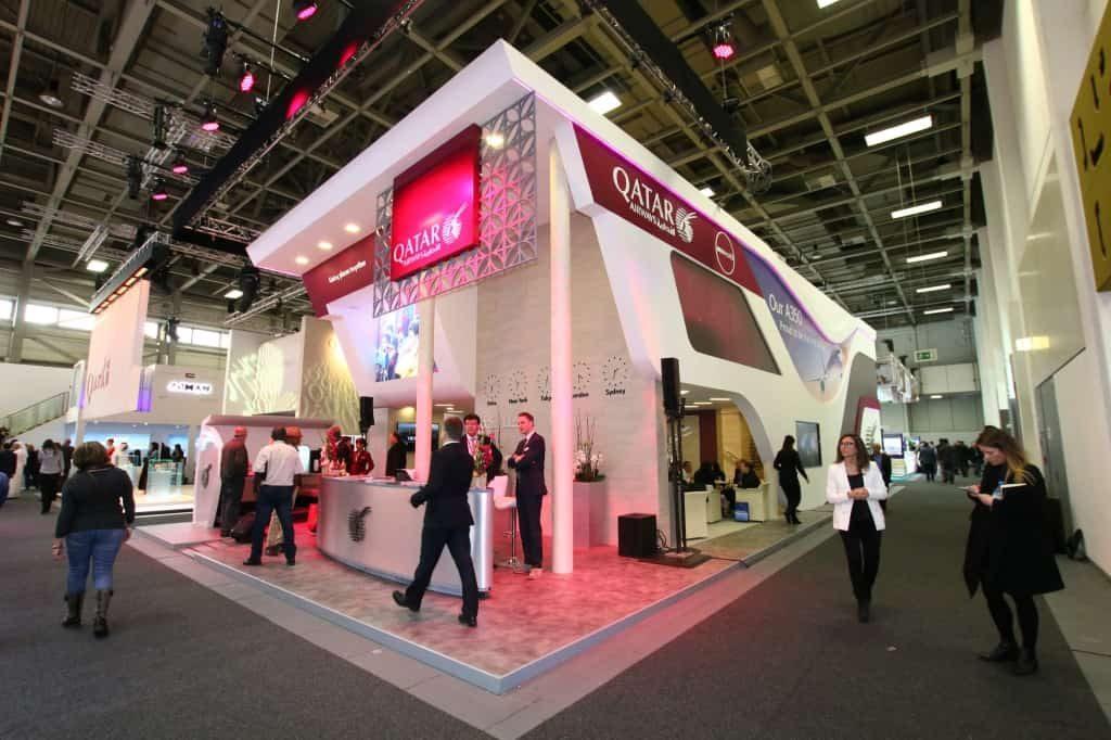 QATAR brand new stand ITB Berlin