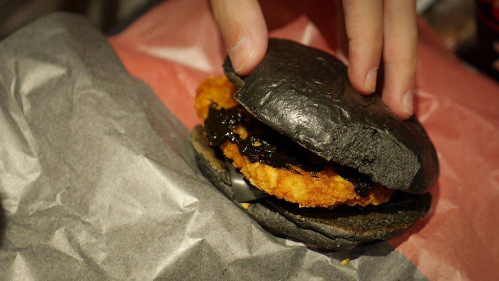 Fekete burger