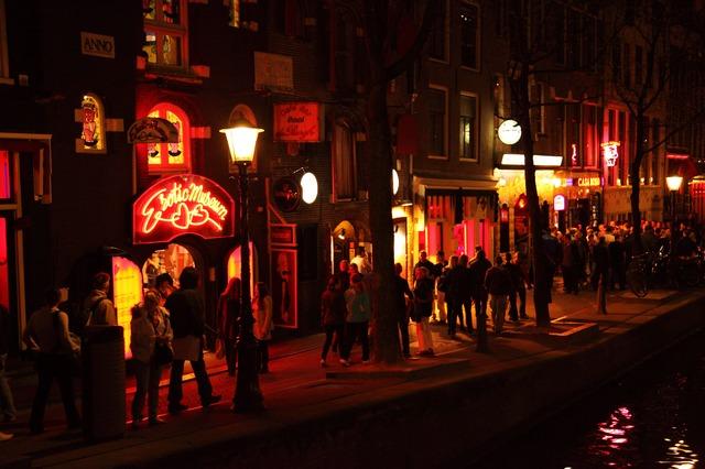 amszterdam vörös lámpás negyed