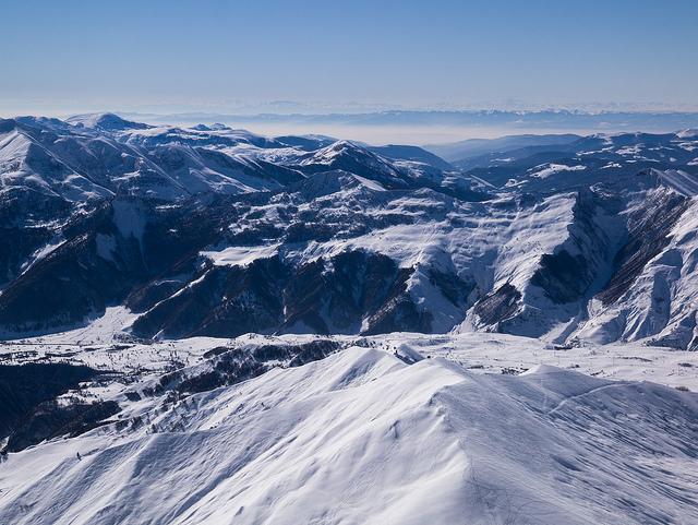 gudauri hegyek síelés grúzia