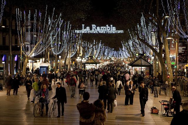 barcelona karácsonyi vásár
