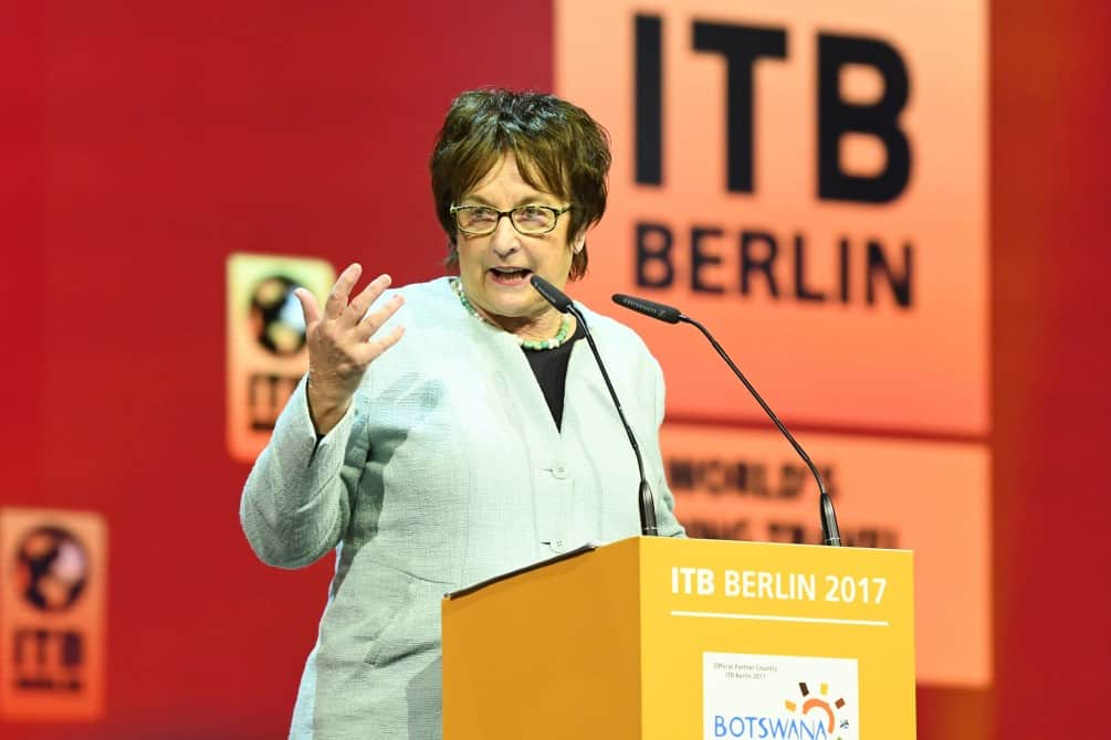 ITB Berlin 2017 - Opening ceremony - Brigitte Zypries, Federal Minister for Economic Affairs and Energy