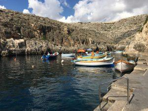 Málta Blue Grotto