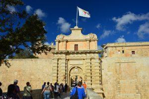 Málta Mdina városkapuja