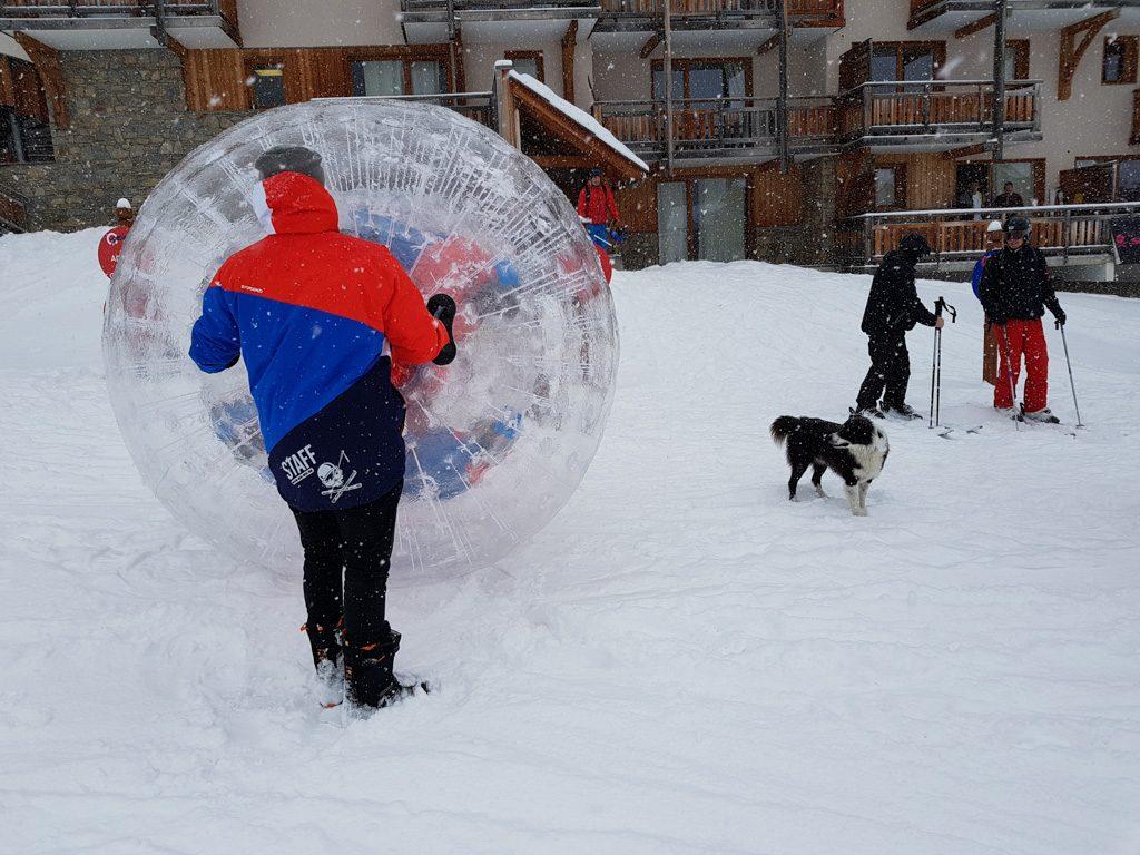 Snowattack Human Bowling