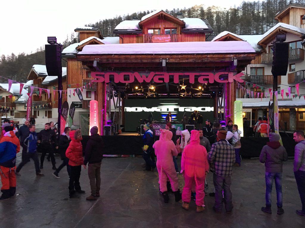Snowattack Roar színpad
