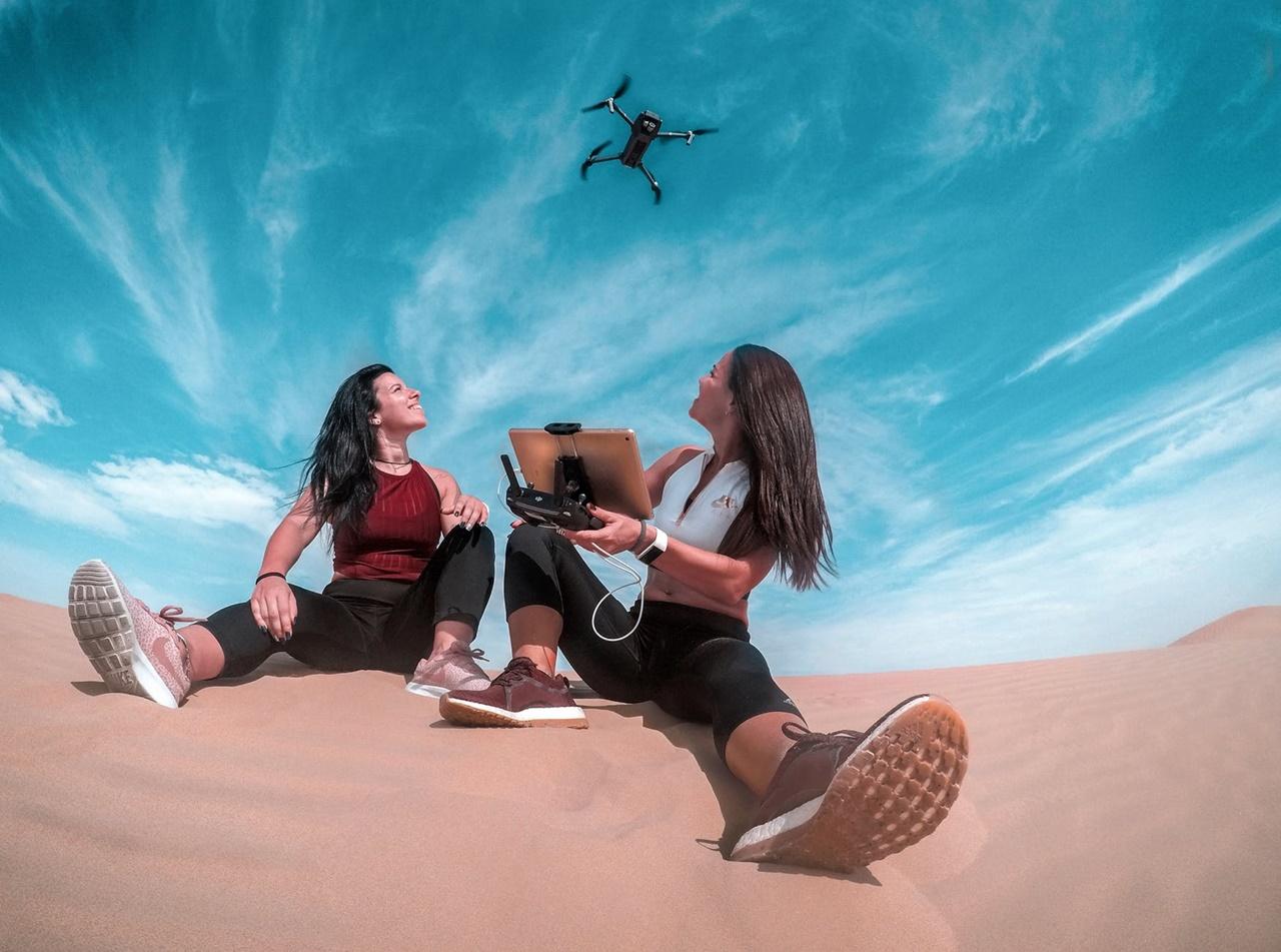 Legjobb utazós drón felvételek csajoknak