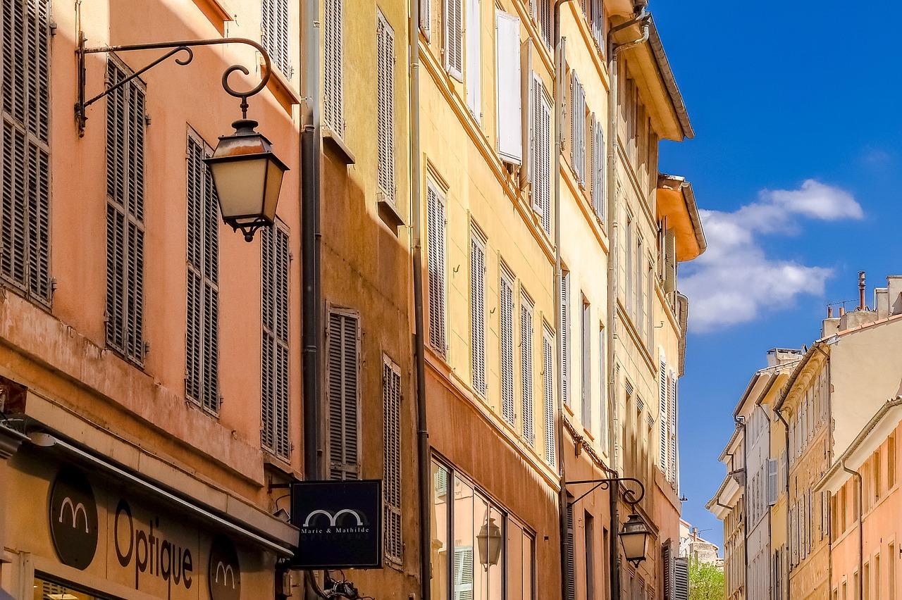 őszi városnézések Provence
