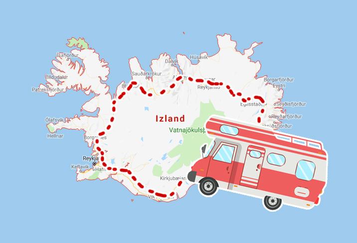 8 napos izlandi körutazás alvóautóbérléssel, repülővel 80.080 Ft-ért!