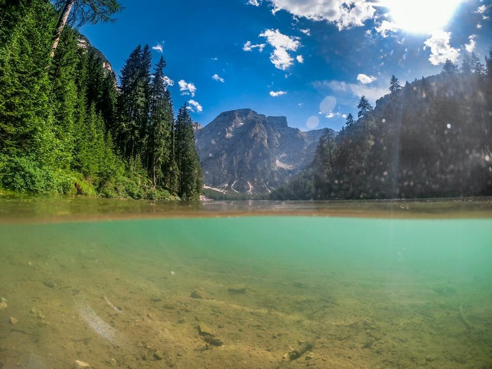 Dolomitok Lago di Braies