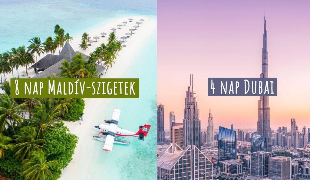 Ezt neked találták ki: 4 nap Dubai + 8 nap Maldív-szigetek, Emirates-szel, szállással 297.350 Ft-ért!