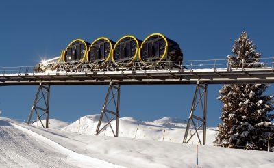 Svájcban megépítették a világ legmeredekebb siklóját