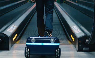 Ezt a bőröndöt nem kell cipelni, jön utánad magától