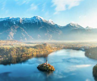 Látogass el Szlovéniába a csodás Bledi-tó partjára!