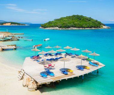 Irány Albánia legszebb tengerpartja, Ksamil!