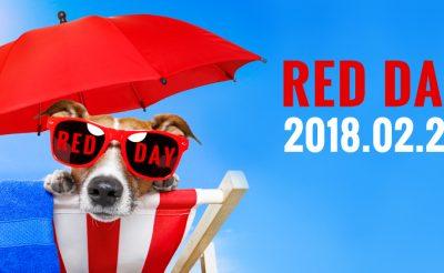 RED DAY – Az utazók piros betűs ünnepe: 2018.02.21.