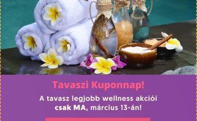 Március 13 – Tavaszi kuponnap – hotelkupon.hu
