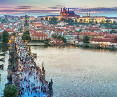 Városlátogatás a közelben: 4 nap Prága szállással és repülővel 22.750 Ft-ért!