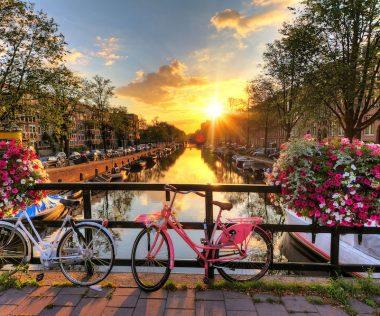 Hosszú hétvége Amszterdamban, szállással és repjeggyel: 58.550 Ft-ért!