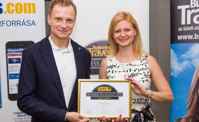 A QATAR AIRWAYS elnyerte a Business Excellence legjobb légitársaság közönségdíját