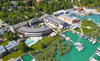 37. hét – 7 Hotele: Hotel Silverine Lake Resort****superior Balatonfüred