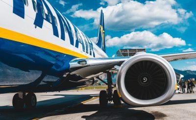 A Ryanair ideiglenesen törli az olasz járatok 25%-át a koronavírus miatt