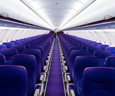 Koronavírusos beteget regisztráltak a Wizz Air járatán