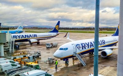 Átszállással is utazhatunk a Ryanairrel Brüsszelen keresztül!