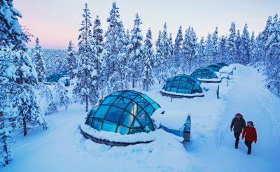 A világ egyik legkülönlegesebb szállása: Kakslauttanen resort, Lappföld