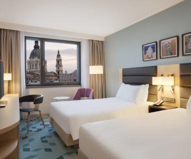 Új Hilton hotel nyílt Budapesten: Hilton Garden Inn