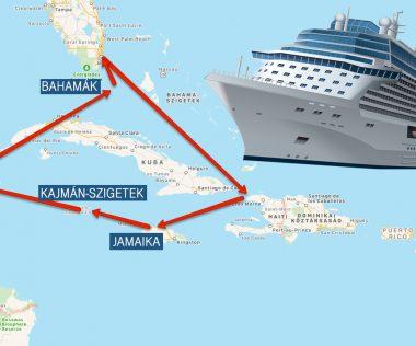 Álomutazás: 4 nap Miami + 8 nap Óceánjáró: Jamaika, Kajmán-szigetek, Mexikó, Bahamák!