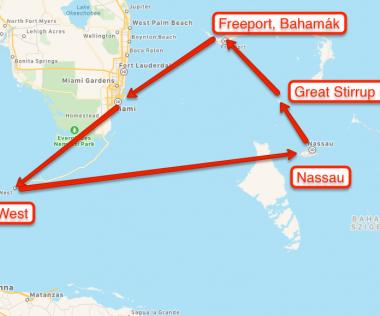 Kihagyhatatlan: Miami repülővel + 6 nap Bahamák 14 emeletes óceánjáróval!
