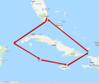 8 napos álomutazás: Irány Miami majd 7 napos óceánjárós kirándulás Jamaikában, Kajmán-szigeteken!