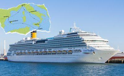 8 napos Földközi-tengeri hajóút óceánjáróval teljes ellátással 179.990 Ft-ért!
