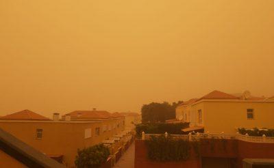 Elérte az elmúlt évek legnagyobb homokvihara a Kanári-szigeteket! (Fotók, videók)