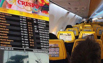 Senki nem ellenőrizte az Olaszországból repülővel mai napon hazatért olvasónkat