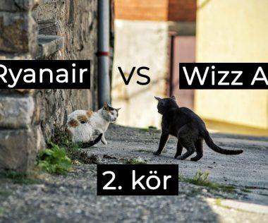 Tovább folytatódik a cicaharc a két fapados között, most a Wizz Air szólt be a Ryanairnek
