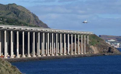 Funchal – a cölöpökre épített futópálya