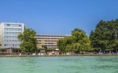 Négy csillagos Hotel Club Tihany félpanzióval 4 éjszakára főszezonban 38.990 Ft!