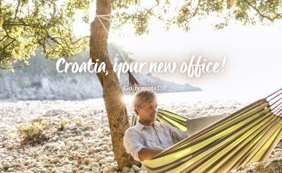 Horvátország az új irodád! Dolgozz a tenger mellől, ha már úgy is home officeban vagy!