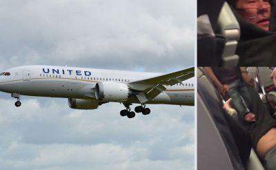 Vérző fejjel húztak le egy utast túlfoglalás miatt a United Airlines gépéről