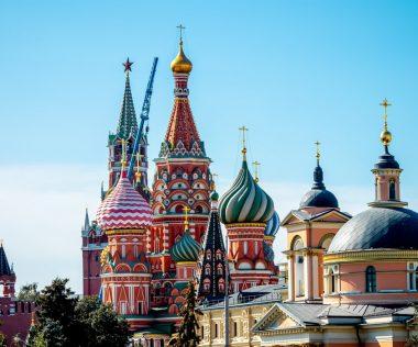 Egy hetes városlátogatás Moszkvába 49.600 Ft-ért!
