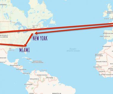 Életre szóló élmény: Utazz Amerikába! New York, Miami, Los Angeles, Las Vegas repülőjegy összesen 208.700 Ft-ért!