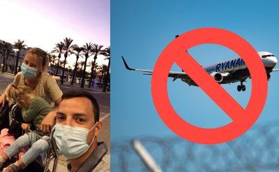 Botrány: A Ryanair nem engedte fel olvasónkat két pici babával a fedélzetre, segítség nélkül hagyták Mallorcán