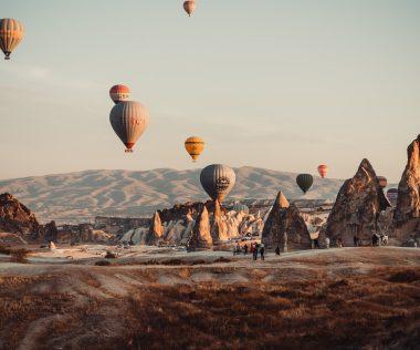 Hőlégballonozz napfelkeltében a gyönyörű Kappadókiában! Egy hetes utazás 4 csillagos hotellel 82.950 Ft-ért!