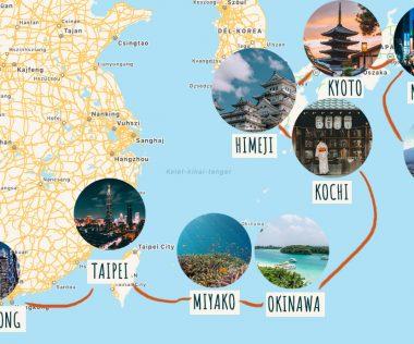 18 napos különleges óceánjárós utazás Hongkongból Tokióba gazdag programkínálattal!