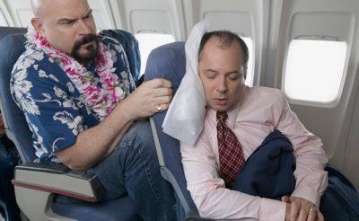Idegesítő embertípusok a repülőgépen