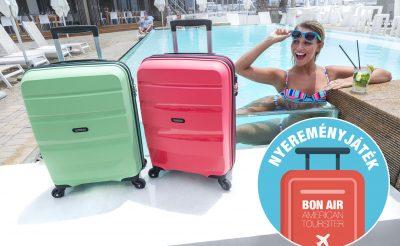 Nyerj egy színes Bon Air bőröndöt az American Tourister jóvoltából!