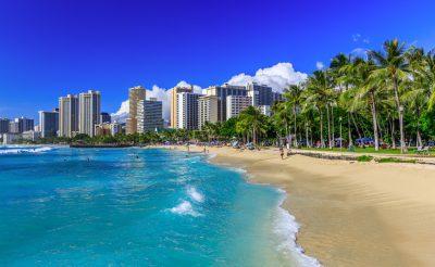 1 hét Hawaii: szálloda a Waikiki beach-en retúr repjeggyel 427.000 Ft-ért