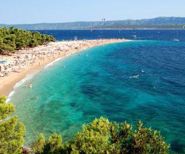 Top 10 tengerpart Horvátországban, térképpel!